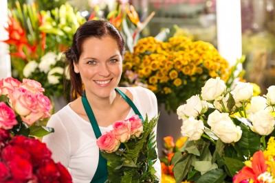 עסק מקומי בתחום הפרחים