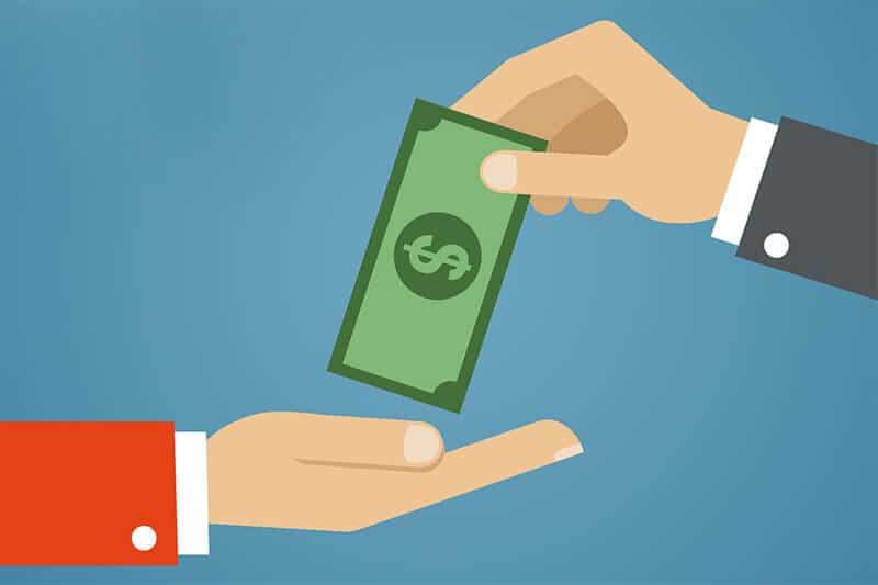 תשלום במזומן