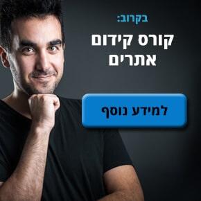 קורס קידום אתרים מאת דניאל זריהן