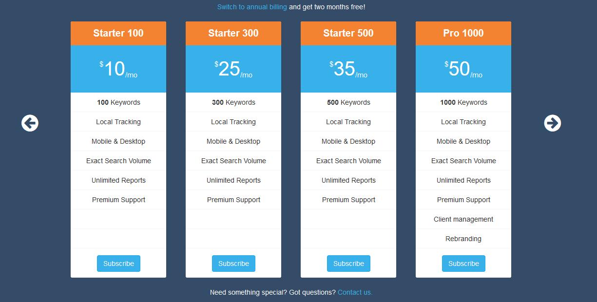 מחירים - Serpfox