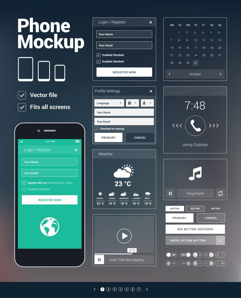 דוגמא לעיצוב חווית משתמש באפליקציה