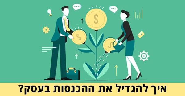 איך להגדיל את ההכנסות בעסק