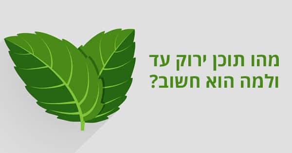 תוכן ירוק עד