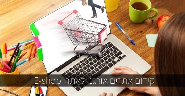 קידום אתרים אורגני לאתרי eshop
