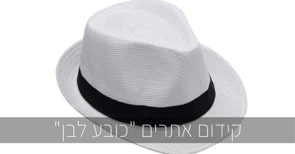קידום אתרים כובע לבן